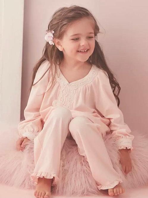 La petite surprise Couture Schlafanzug Jade Rosa