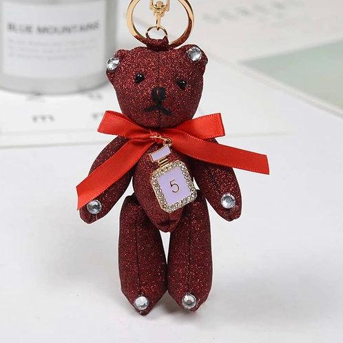 La petite surprise Couture Teddy Anhänger Rot