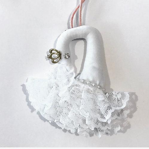 La petite surprise Couture Kinder Halskette Schwan