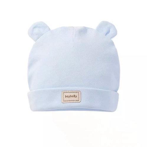 La petite surprise Couture Baby Mütze Hellblau