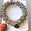 Thumbnail: La petite surprise Couture Crystal Haargummi / Armband Grau
