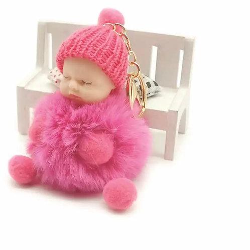 La petite surprise Couture Baby Anhänger Pompom Pink