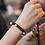 Thumbnail: La petite surprise Couture Haargummi / Armband Schwarz