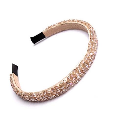 La petite surprise Couture Haarreifen Crystal Champagner