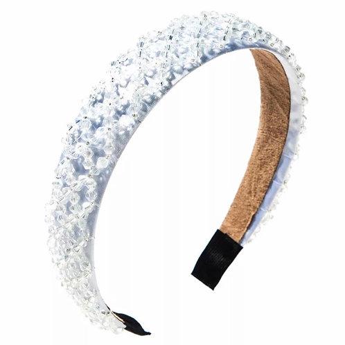 La petite surprise Couture Crystal Haarreifen Weiß