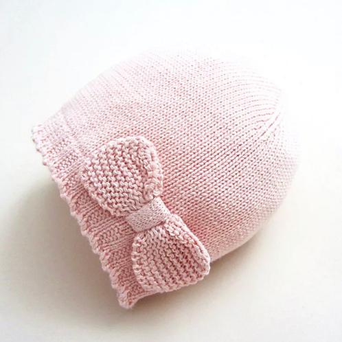 La petite surprise Baby Couture Strickmütze Rosa