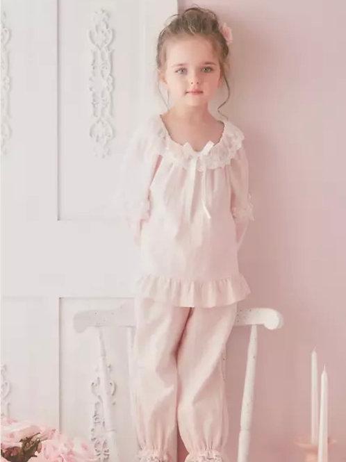 La petite surprise Couture Schlafanzug Louise Rosa