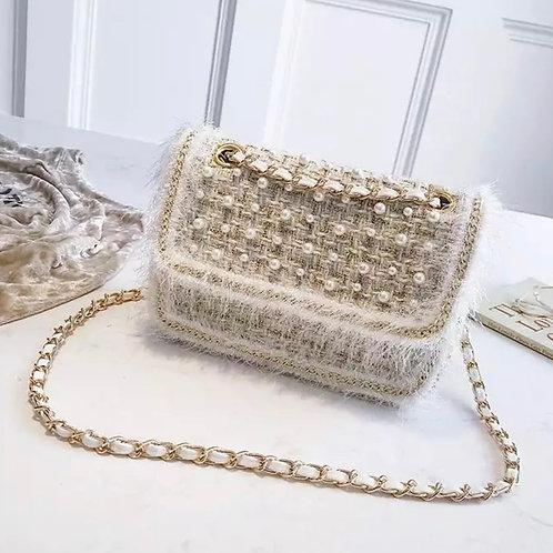 La petite surprise Couture Tasche Boucle Beige