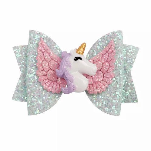 La petite surprise Couture Haarspange Einhorn Mint