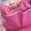 Thumbnail: Brasi & Brasi - Shopper Bag mit  Fransen Frays Hellrosa