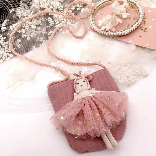 La petite surprise Couture Täschchen Ballerina Rose