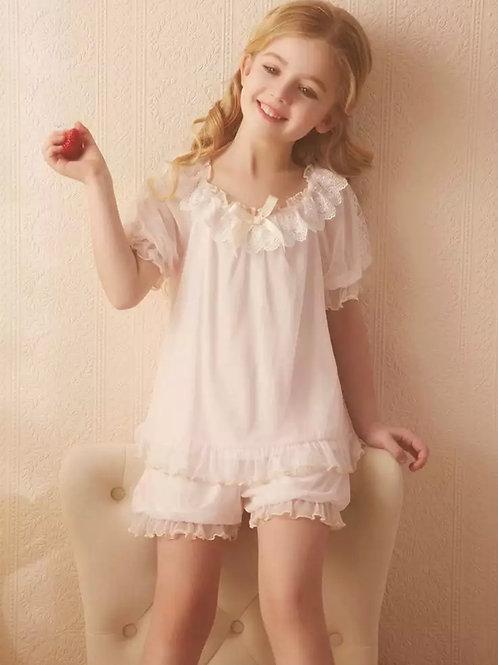 La petite surprise Couture Schlafanzug Genevieve Rosa