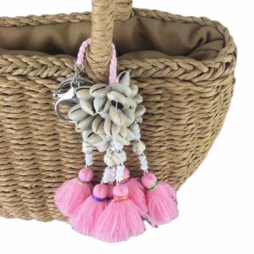 La petite surprise Couture Muschel Anhänger Candypink