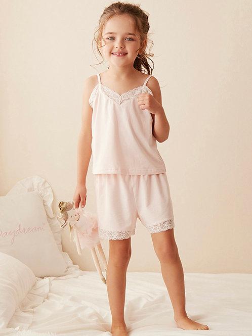 La petite surprise Couture Schlafanzug Audrey Rosa