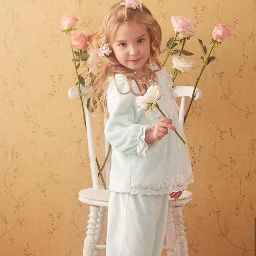 La petite surprise Couture Schlafanzug Claire Mint