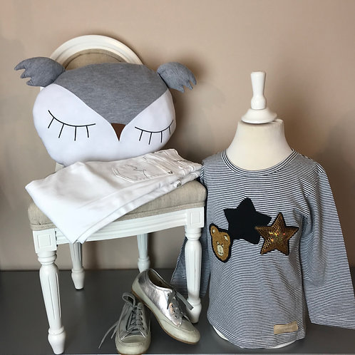 La petite surprise Couture Shirt Black Star