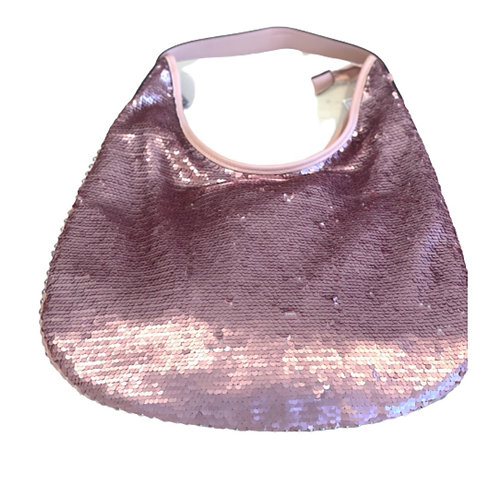 La petite surprise Couture Pailletten Tasche Altrosa