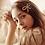 Thumbnail: La petite surprise Couture Perlen Haarspange Schleife 7 cm