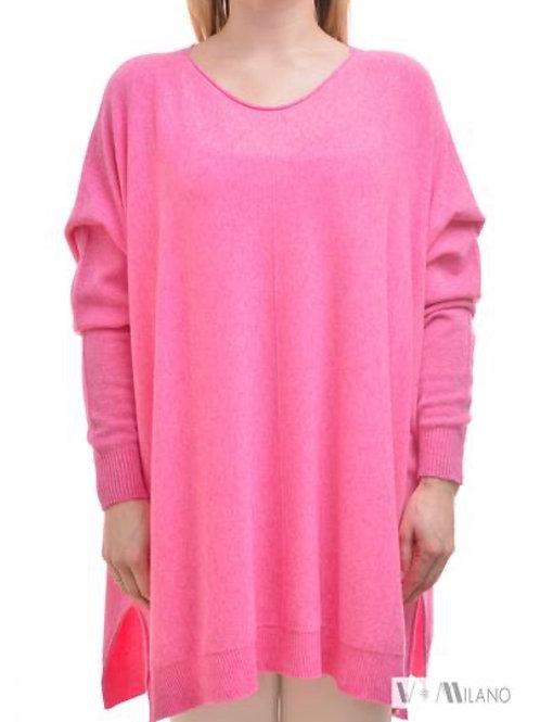 V Milano Pullover Dilcie Oversize Pink