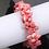 Thumbnail: La petite surprise Couture Muschel Haargummi / Armband Rosa