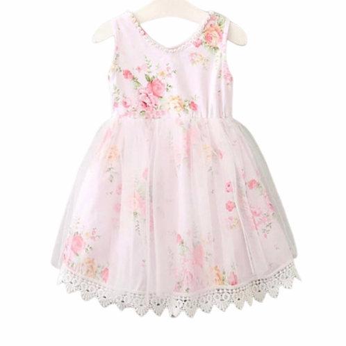 La petite surprise Couture Dress Roses Rose