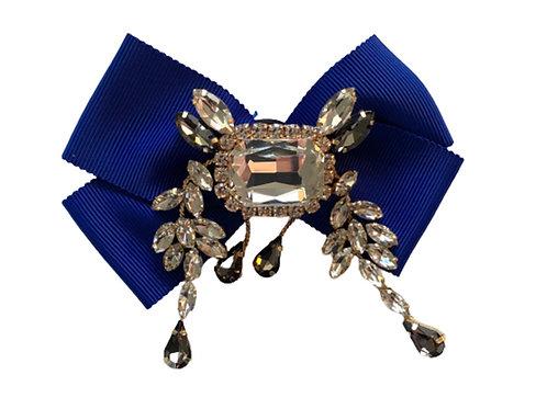 La petite surprise Couture Brosche Royalblau