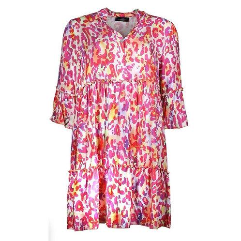 Zwillingsherz - Kleid Rita Leo Pink