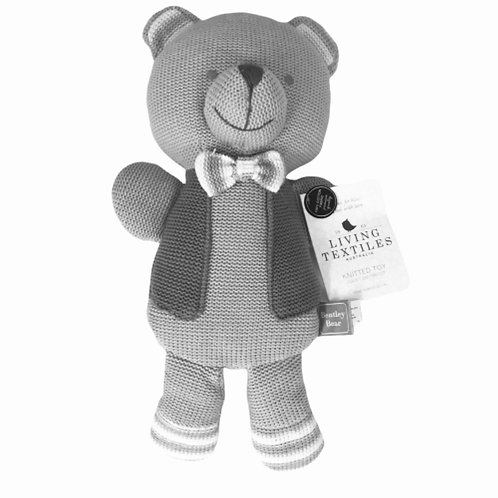 Living Textiles Knitted Toy Bentley Bear 38 cm