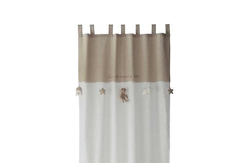 La petite surprise Couture Schlaufenvorhang 110x120 cm