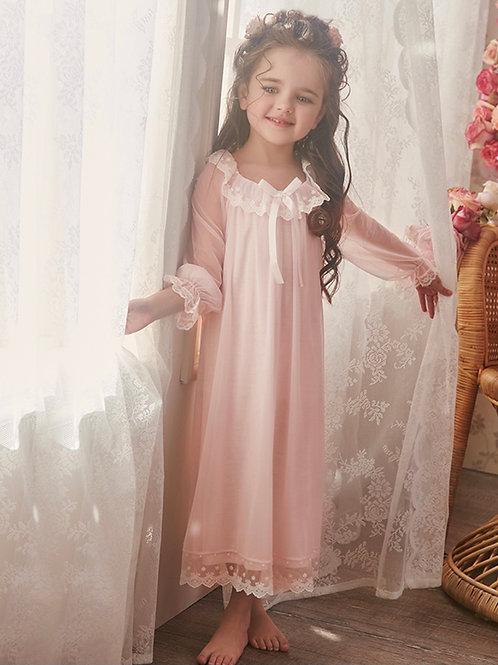 La petite surprise Couture Nachthemd Zoe Rosa