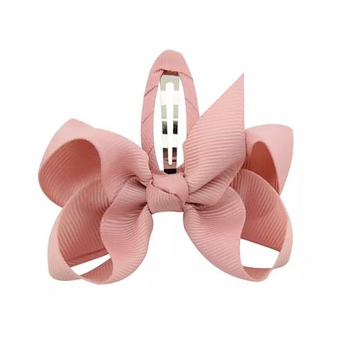 La petite surprise Couture Haarspange Schleife Nude