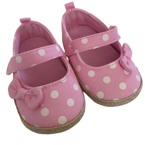 La petite surprise Baby Couture Ballerinas Rosa