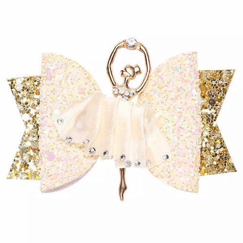 La petite surprise Couture Haarspange Ballerina Creme