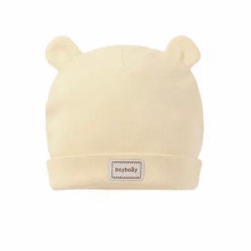 La petite surprise Couture Baby Mütze Vanille