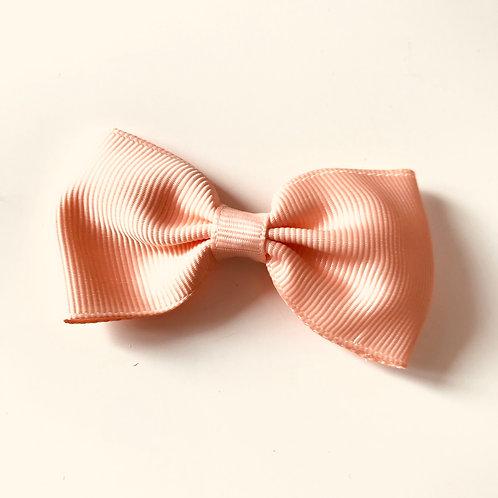 La petite surprise Couture Haarspange Schleife Apricot