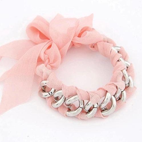 La petite surprise Couture Armband Rosa
