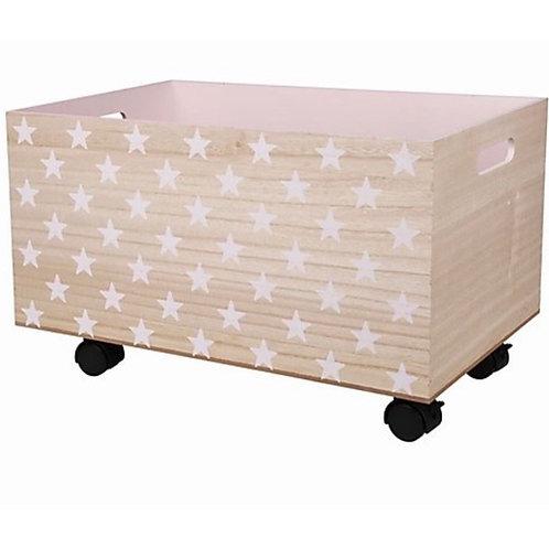 La petite surprise Couture - Kinderzimmer Holz Rollbox Sterne