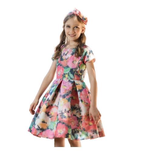 Patachou -Kleid Floral Metallic