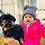 Thumbnail: La petite surprise Baby Couture Strickmütze Grau