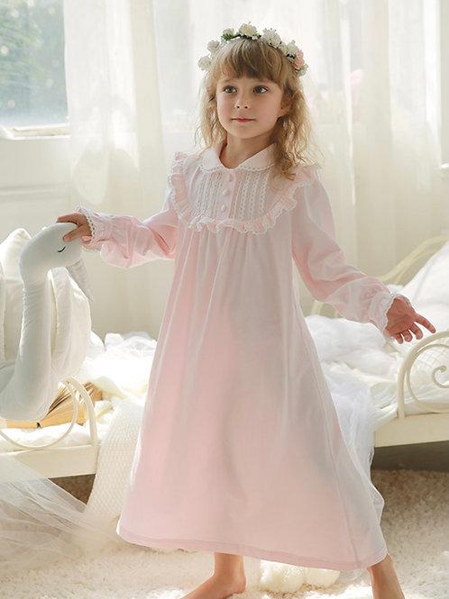 La petite surprise Couture Nachthemd Lucie Rosa