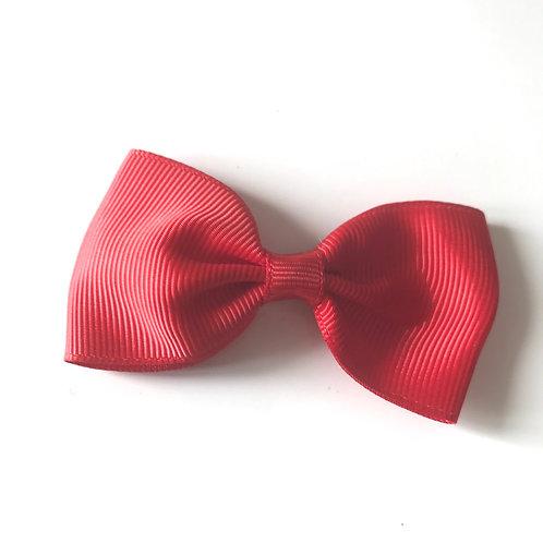 La petite surprise Couture Haarspange Schleife Rot