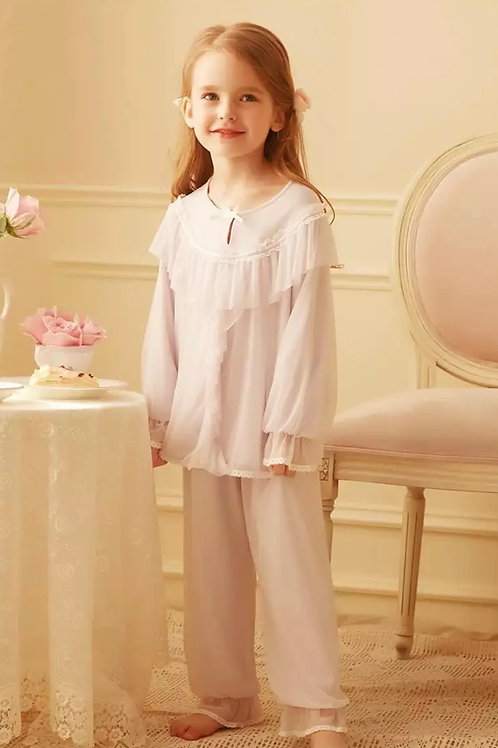 La petite surprise Couture Schlafanzug Elisabeth Rosa