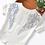 Thumbnail: La petite surprise Couture T-Shirt Angel Weiß