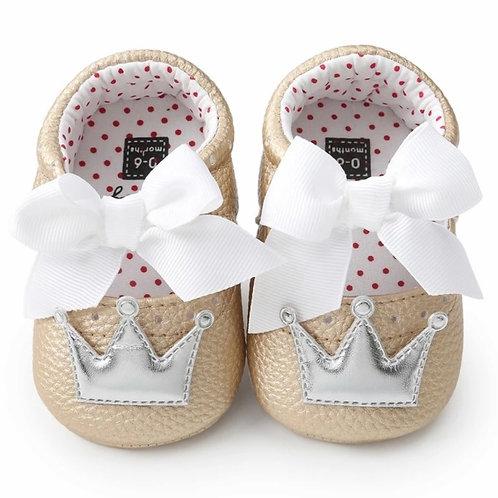 La petite surprise Couture Baby Schühchen Beige