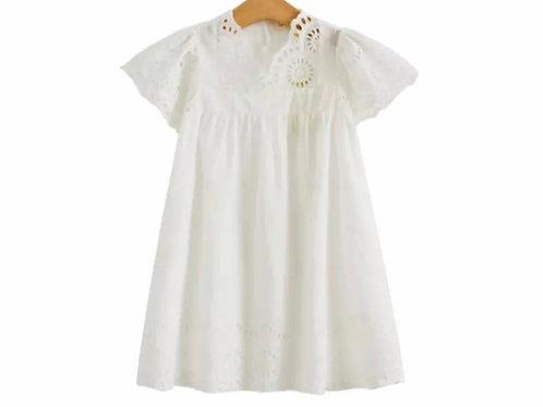 La petite surprise Couture Kleid Luisa Weiß