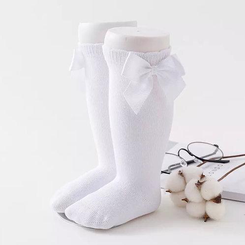 La petite surprise Couture Strümpfe Weiß
