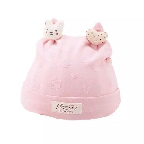 La petite surprise Couture Baby Mütze Rosa