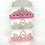 Thumbnail: La petite surprise Couture Haarreifen Krone Crystal Weiß