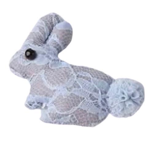 La petite surprise Couture Haarspange Bunny Hellblau