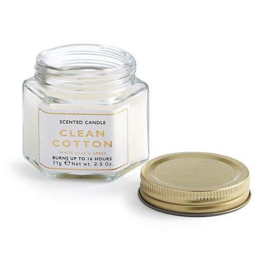 """La petite surprise Couture  """"Clean Cotton White Lilac & Amber"""" Duftkerze"""